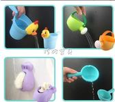 洗頭杯 兒童洗澡玩具男孩女孩小黃鴨洗頭杯向日葵花灑寶寶灑水壺套裝沙灘 珍妮寶貝