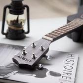 尤克里里斑馬木初學者小吉他灰色男女通用  創想數位DF