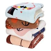 毛毛雨雙層加厚珊瑚絨小毯子辦公室蓋毯加披肩毯午睡毯成人毛毯igo  都市時尚