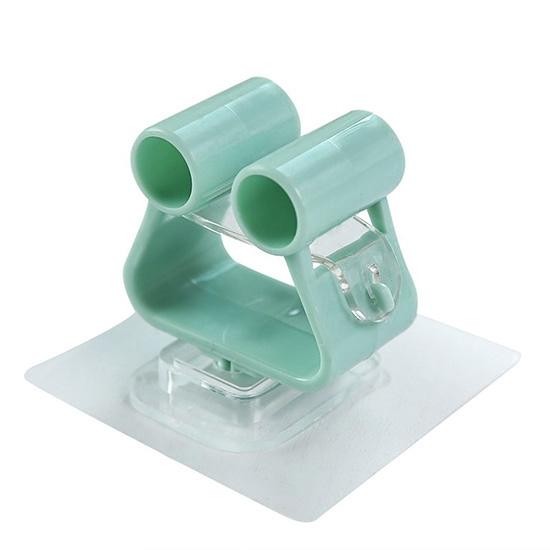 掃把架 掛勾 無痕 收納架 置物架 防水 強力 透明吸盤 浴室 廚房 掛鉤 免打孔 拖把架【B001】MY COLOR