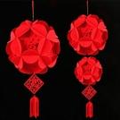 2020 紅福中號1入 新年 年節 過年佈置 春節裝飾 掛件 春節 吊飾 【GOZ0242】