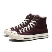 CONVERSE CHUCK TAYLOR ALL STAR 1970 70S 酒紅 奶油頭 黑標 帆布鞋 高筒 男女 (布魯克林) 169342C
