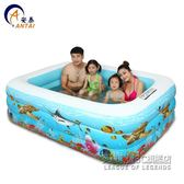 家用嬰兒游泳池加厚成人大號家庭大型寶寶兒童充氣游泳池