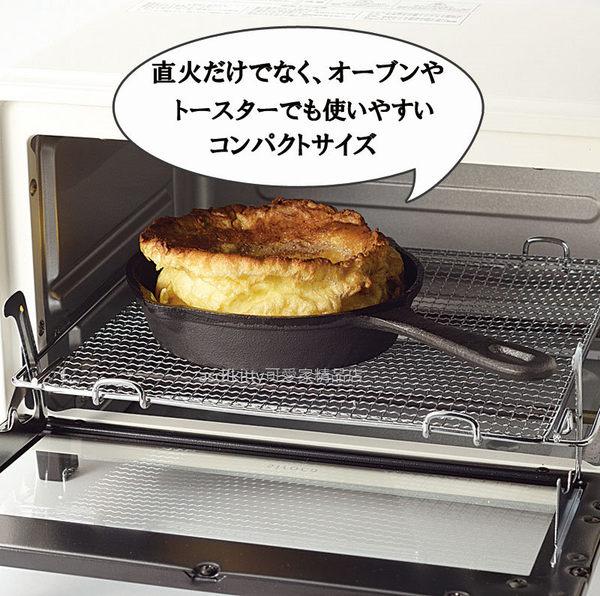 asdfkitty可愛家☆內海產業 單把鑄鐵鍋/平底鍋-15公分-電磁爐.小烤箱.水波爐都可以用-日本正版商品