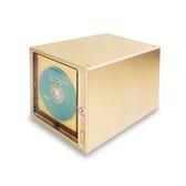 HIPCE輕觸式CD收納盒透明160片CD存放盒大容量收納架光盤收納箱子·樂享生活館