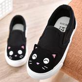 童鞋女兒童帆布鞋女童布鞋卡通童鞋女2018春季新款男童 貝芙莉女鞋
