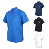 MIZUNO 男短袖POLO衫 (免運 短袖上衣 高爾夫 網球 美津濃≡排汗專家≡