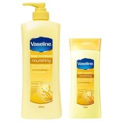 『凡士林 Vaseline』燕麥全效滋養潤膚乳液600ml× 漾小鋪 ×