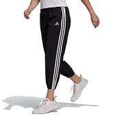 Adidas W 3S WV E 78PT 女 黑 運動 休閒 長褲 GM5559