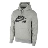 Nike SB Icon Hoodie [AJ9734-063] 男款 運動 健身 連帽 長袖 上衣 棉柔 灰