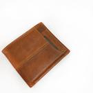 【SoLoMon原創設計皮件】真皮短夾 卡片可抽取鈔票收納短夾