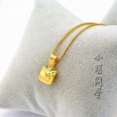 黃金沙金項鍊KT3D立體項鍊 全館免運