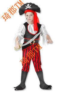 加勒比海盜服裝 小傑克船長