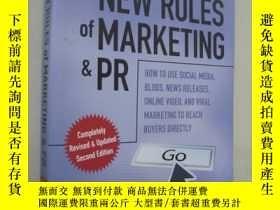 二手書博民逛書店The罕見New Rules of Marketing & PR