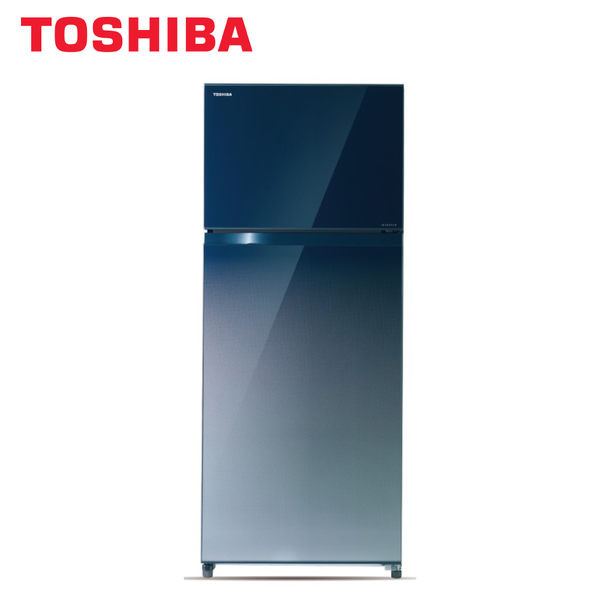 [TOSHIBA 東芝]510公升 雙門變頻鏡面冰箱-漸層藍 GR-AG55TDZ