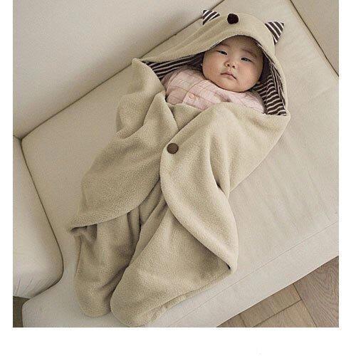 【一起瘋】冬天必備 多功能外出抱被嬰兒抱毯推車專用保暖睡袋