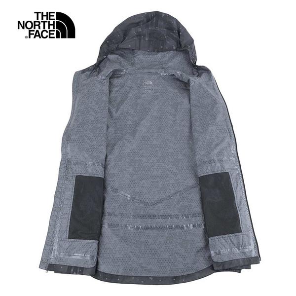 The North Face 女 印花透氣防水衝鋒外套 NF0A3LLE7EG 【GO WILD】