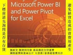二手書博民逛書店Analyzing罕見Data With Power Bi And Power Pivot For Excel