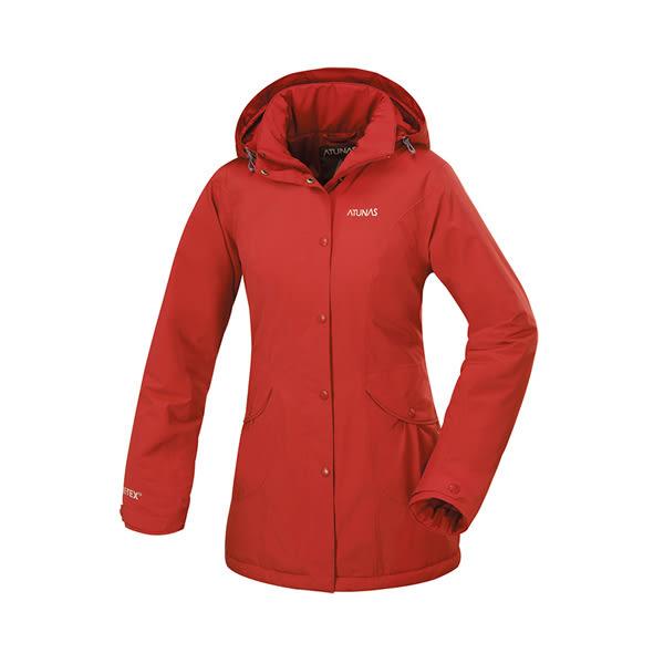 [ATUNAS] 歐都納 (女) 都會時尚GT保溫Primaloft外套 紅 (A-G1550W-A)