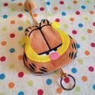 【發現。好貨】可愛卡通加菲貓 鑰匙包 抽繩毛絨鑰匙包 鑰匙包 零錢包 毛絨鑰匙圈
