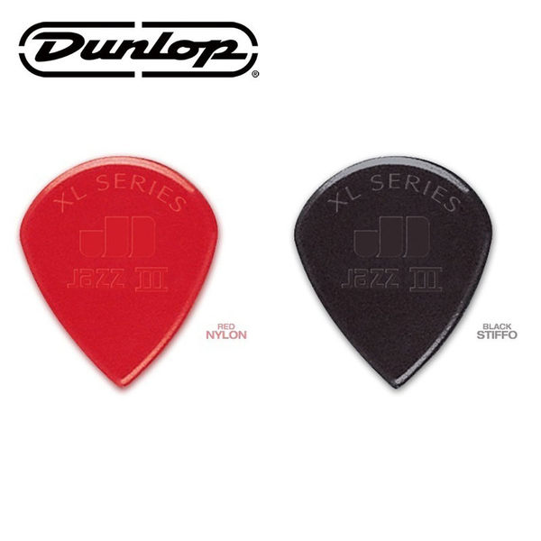 【小叮噹的店】公司貨!Dunlop JAZZ III 47R XL 匹克 尼龍彈片 PICK 吉他彈片 (大)