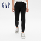 Gap女童 鬆緊針織彈力緊身褲 523702-黑色