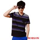 BOBSON 男款條紋上衣(25027-88)