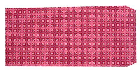 成昌 5號20k紅底小花圖案貼心禮物袋 (款式隨機出貨)-100張 /束