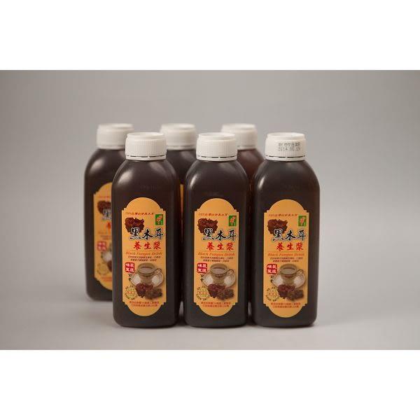 【埔里菇寶】黑木耳黑糖養生漿480ml/24瓶