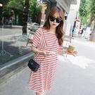 新款時尚簡潔孕婦裝 連衣裙 洋裝10
