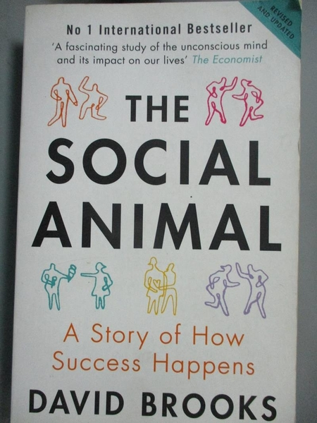 【書寶二手書T6/勵志_CSI】Social Animal: A Story of How Success Happens_David Brooks
