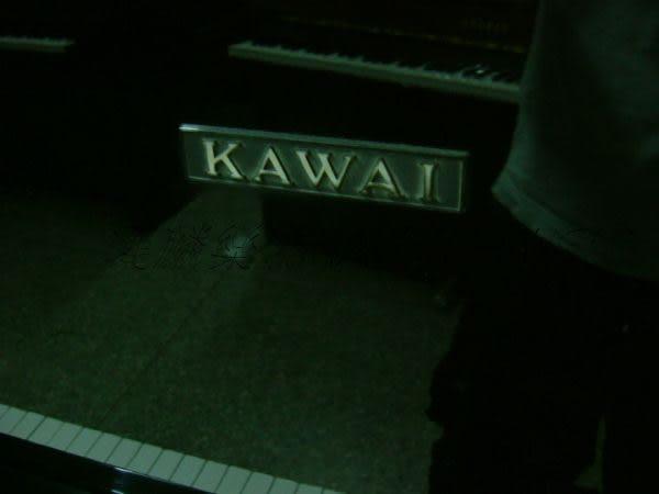 【HLIN漢麟樂器】-日本原裝kawai河合123號直立式中古二手鋼琴-原木-亮黑-豪華25