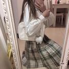 手提包女時尚休閒百搭側背包斜背包【愛物及屋】