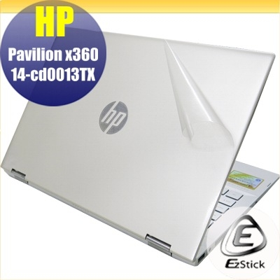 【Ezstick】HP X360 14-cd0012TX 14-cd0013TX 二代透氣機身保護貼 DIY 包膜