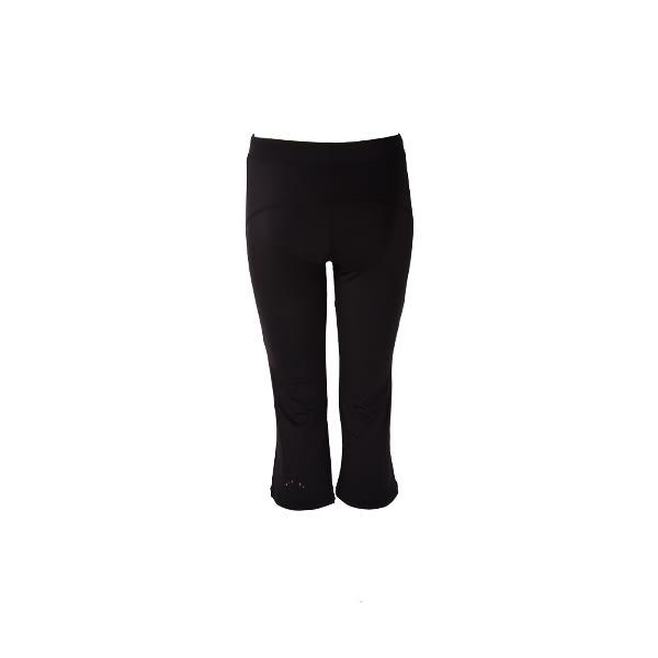 【美津濃 MIZUNO】女 瑜珈褲 運動褲 七分褲 百搭 素色 - K2TB6C0209(黑)[陽光樂活]