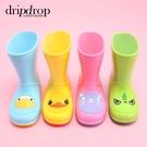 兒童雨鞋男童女童寶寶膠鞋萌物雨靴可愛防滑水鞋 露露日記