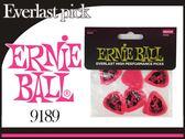 【小麥老師樂器館】彈片 0.73mm 粉紅 Ernie Ball 旗艦店 Everlaast 公司貨【C45】