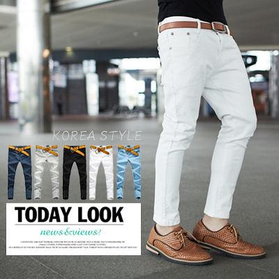 牛仔褲‧柒零年代 Summer【N7978J】韓系完美版型skinny窄管九分牛仔褲(JK2175)