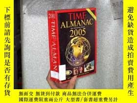 二手書博民逛書店TIME罕見ALMANAC WITH INFORMATION P