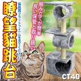 【🐱🐶培菓寵物48H出貨🐰🐹】寵愛物語doter》CT40貓咪玩樂暸望貓跳台