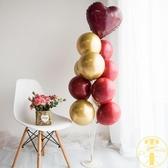 地飄桌飄婚房氣球支架立柱生日派對裝飾婚禮場景布置用品【雲木雜貨】