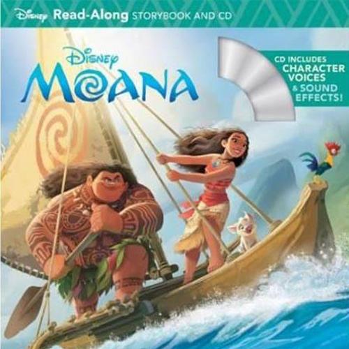 Moana Read-Along Storybook And CD 海洋奇緣 有聲讀本 (一平裝繪本+一CD)