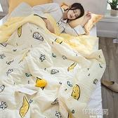 水洗棉空調被夏涼被雙人夏季薄被子兒童單人學生春秋夏天薄款夏被 韓語空間
