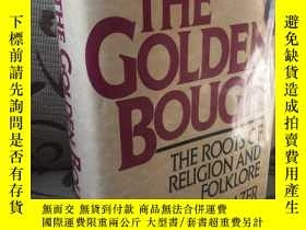 二手書博民逛書店The罕見golden bough the roots of r
