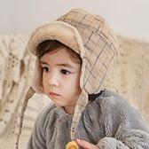 嬰兒帽子秋冬季女童男童帽女寶寶雷鋒帽新生兒帽子兒童護耳帽冬潮 薇薇