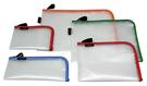 自強牌  SAL-35  環保L型網狀拉鍊袋(一打裝)