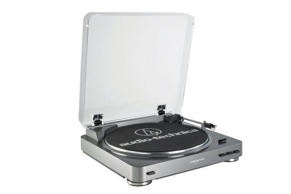 鐵三角 AT-LP60 全自動立體聲黑膠唱盤 公司貨 首批限量、買就送唱針清潔液 [My Ear 台中耳機專賣店]