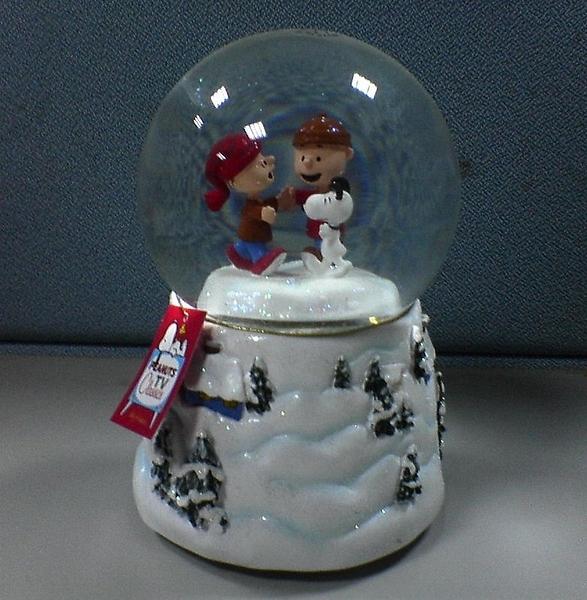 史努比聖誕音樂盒Winter Wonderland