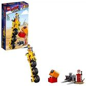 LEGO 樂高 Movie 2 Emmet s Thricycle! 70823 Three-Wheel Toy Bicycle Action Building Kit for Kids (173 Piece)