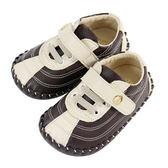 Swan天鵝童鞋-幾何線條寶寶鞋 1485-咖